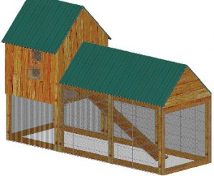 building a cheap chicken coop